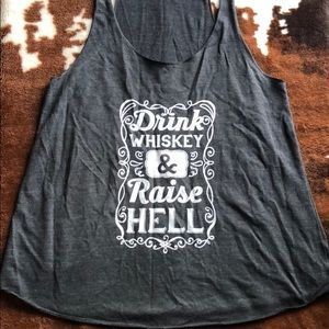 Tops - Whiskey Tank Top